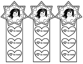 Girl Bookmarks