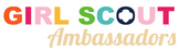 Girl Scout Ambassadors Troop Logo *PERSONALIZED*