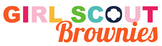 Girl Scout Brownie Troop Logo *PERSONALIZED*