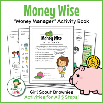 "Girl Scout Brownies - ""Money Manager"" Activity Pack Bundle"