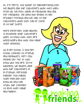 Girl Scout Junior Customer Insights Download
