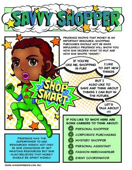 Girl Scout Junior Superhero Savvy Shopper Download