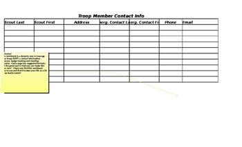 Girl Scout Planning & Management Workbook
