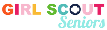 Girl Scout Seniors Troop Logo *PERSONALIZED*