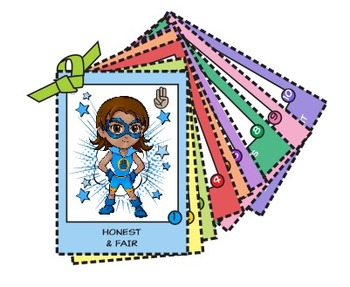 Girl Scout Superhero Trading Cards