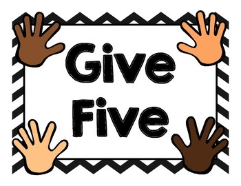 Give 5
