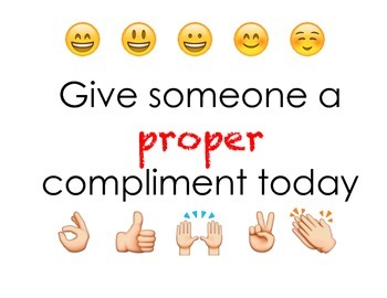 "Give Someone a Proper Compliment Using ""You're"""