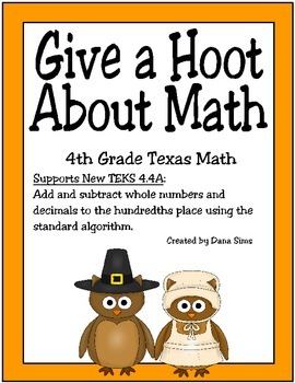 Give a Hoot About Math