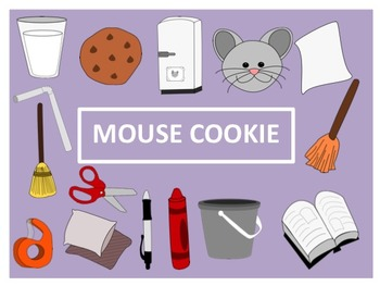 Give a Mouse a Cookie Clip Art
