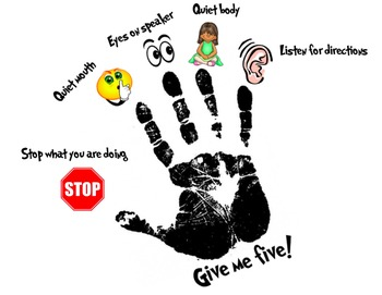 Give me five!  (handout & poster)