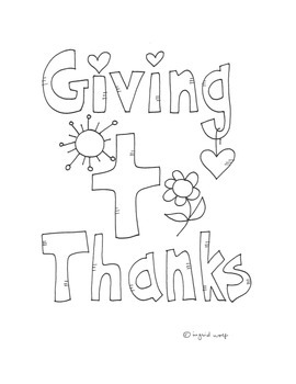 Giving Thanks Activity Booklet