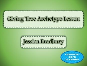 Giving Tree Archetype Graphic Organizer