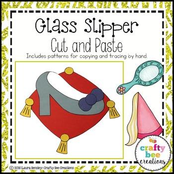 Glass Slipper Cut and Paste