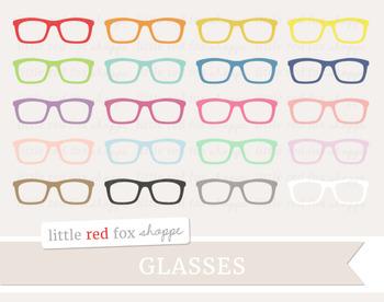 Glasses Clipart; Eyewear