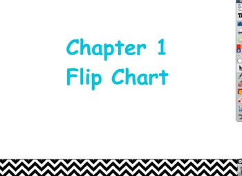 Glencoe Course 1 (Grade 6) Chapter 1 Flipchart: Ratios and Rates