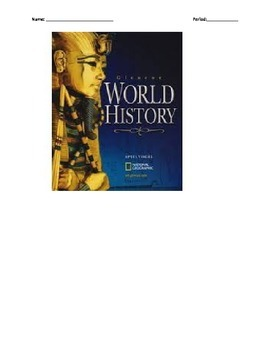 Glencoe - World History - Chapter 4 notes w/30 question quiz
