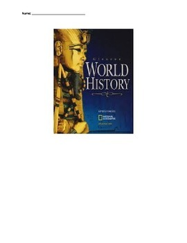 Glencoe - World History - Chapter 9 notes 33w/quiz