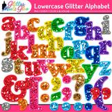 Glitter Alphabet Clip Art - Lowercase - Letter Recognition