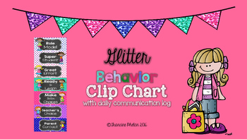 Glitter Behavior CLIP CHART