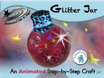 Glitter Jar - Animated Step-by-Step Craft Symbol Stix
