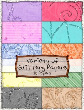 Glitter Papers