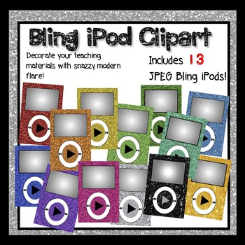 Glitter Clipart iPods
