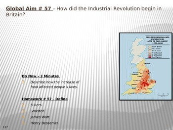 Global Aim # 57 - How did the Industrial Revolution begin