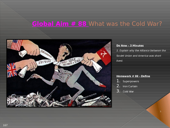 Global Aim # 88 What was the Cold War?