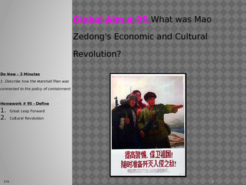Global Aim # 95 What was Mao Zedong's Economic and Cultura