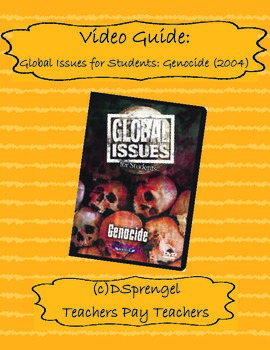 Global Issues for Students: Genocide Video/Movie Guide (20