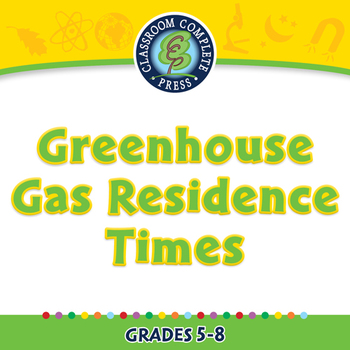 Global Warming CAUSES:  Greenhouse Gas Residence Times - P