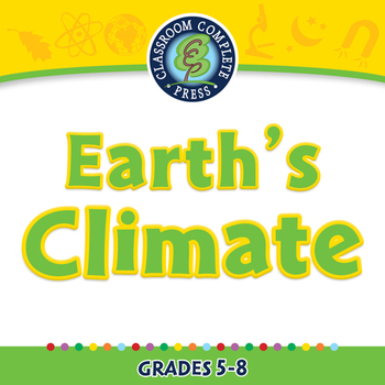 Global Warming EFFECTS: Earth's Climate - NOTEBOOK Gr. 5-8