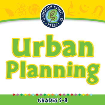 Global Warming REDUCTION: Urban Planning - NOTEBOOK Gr. 5-8