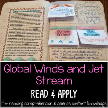 Global Winds and Jet Stream Reading Comprehension Interact