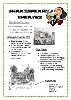 Globe Theatre Fact Sheet
