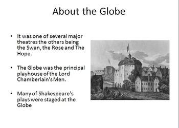 Globe Theatre Powerpoint