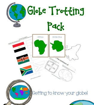 Globe Trotting Geography Pack