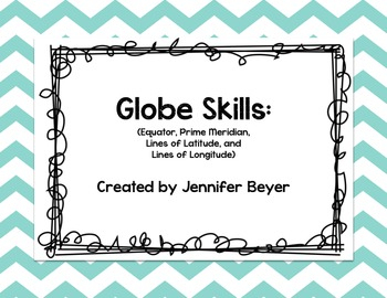 Globe Vocabulary Interactive Notes