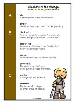 Glossary of the Vikings