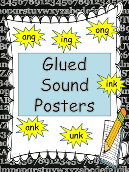 Glued Sounds Posters