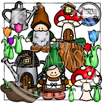 Gnome Clipart Bundle