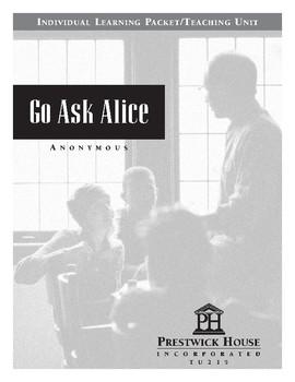 Go Ask Alice Teaching Unit