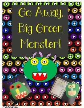 Go Away, Big Green Monster Craftivity