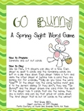 Go Bunny: A Spring Sight Word Game