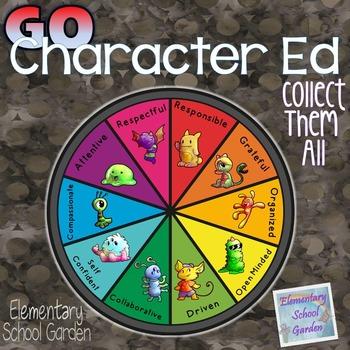 Go Character Ed GROWING BUNDLE - Positive Behavior Traits