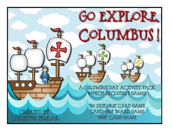Go Explore, Columbus! {3 Activities for Columbus Day}