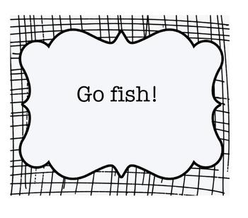 Go Fish 5.1 Avancemos