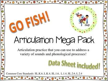 Go Fish Articulation Mega Pack