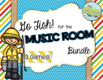 Go Fish! Card Game Bundle: Composers, Orchestra, Classroom