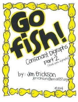 Go Fish!  (Consonant Digraphs Part 2)